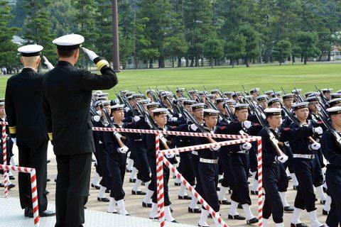 海上自衛隊 江田島地区 平成28年自衛隊記念日記念行事No6