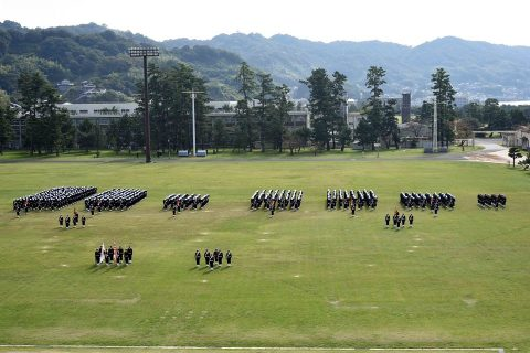 海上自衛隊 江田島地区 平成28年自衛隊記念日記念行事No8
