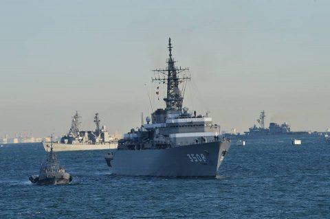 平成28年 海上自衛隊幹部候補生 遠洋練習航海2016部隊 帰国No01