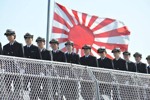 平成28年 海上自衛隊幹部候補生 遠洋練習航海2016部隊 帰国No02