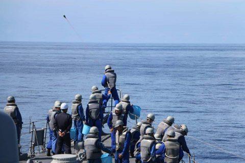 平成28年度海上自衛隊⇒ニュージーランド海軍主催国際観艦式参加へNo1