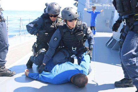 平成28年度海上自衛隊⇒ニュージーランド海軍主催国際観艦式参加へNo3