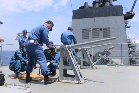 平成28年度海上自衛隊⇒ニュージーランド海軍主催国際観艦式参加へNo4