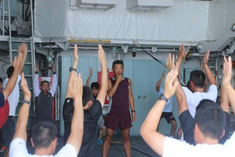 平成28年度海上自衛隊⇒ニュージーランド海軍主催国際観艦式参加へNo5