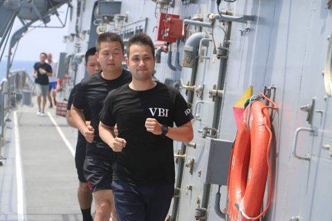 平成28年度海上自衛隊⇒ニュージーランド海軍主催国際観艦式参加へNo6