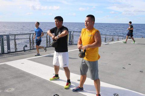平成28年度海上自衛隊⇒ニュージーランド海軍主催国際観艦式参加へNo7