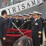 防衛省海上自衛隊 派遣海賊対処行動水上部隊(26次隊)きりさめ出国