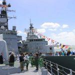 ニュージーランド海軍主催国際観艦式における護衛艦たかなみの記録