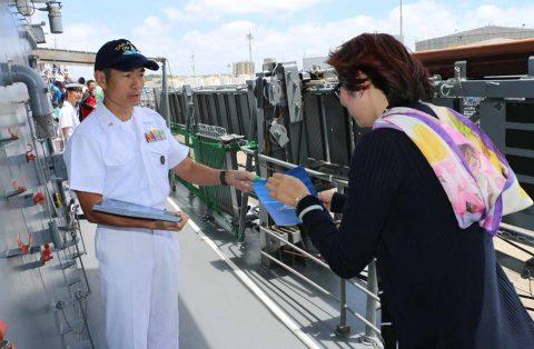 ニュージーランド海軍主催国際観艦式における護衛艦たかなみの記録No6