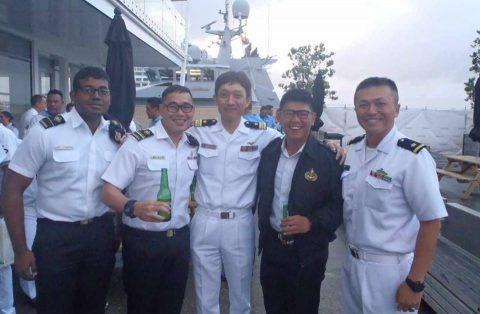 ニュージーランド海軍主催国際観艦式における護衛艦たかなみの記録No7