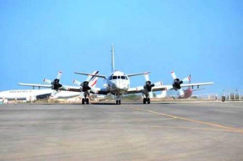 第25次派遣海賊対処行動航空隊のP-3C哨戒機2機ジブチに到着No1