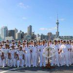 ニュージーランド海軍TE MANA 主催国際観艦式 護衛艦たかなみ