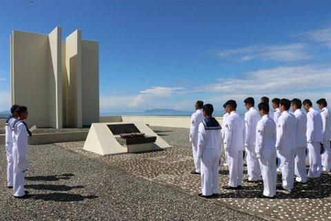海上自衛隊 ソロモン諸島における戦没者遺骨収集事業への協力