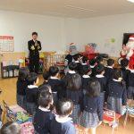 第2術科学校(神奈川県横須賀市)の「このはな園」 海上幕僚長 武居海将