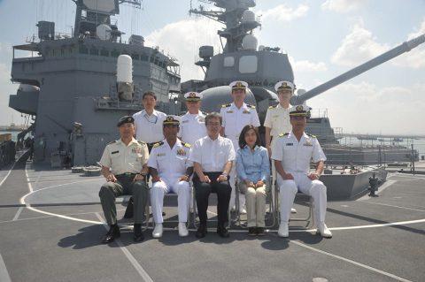 防衛省海自 派遣海賊対処行動水上部隊(25・26次隊)レポート3