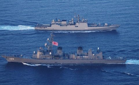 25次派遣海賊対処行動水上部隊 インド海軍との親善訓練及び交流