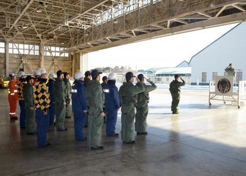 防衛省 海上自衛隊 大湊航空基地 第25航空隊初訓練飛行