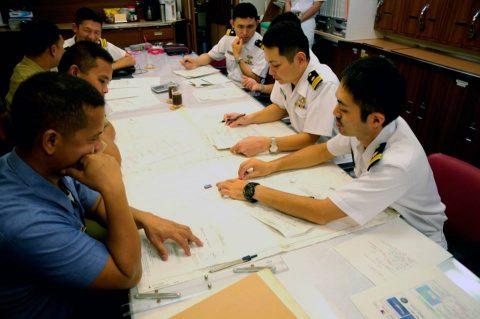25次派遣海賊対処行動水上部隊 フィリピン海軍との親善訓練及び交流