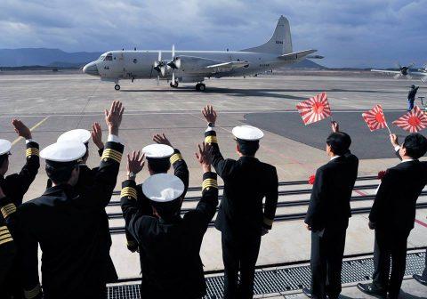 26次派遣海賊対処行動航空隊 出国行事 海上自衛隊鹿屋航空基地