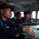 外洋練習航海 第50期一般幹部候補生課程(部内課程)の様子2