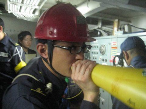 外洋練習航海 第50期一般幹部候補生課程(部内課程)の様子1