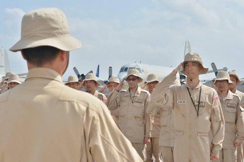 7次派遣海賊対処行動支援隊26次派遣海賊対処行動航空隊ジブチ到着
