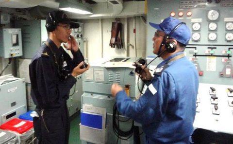 平成28年度外洋練習航海1【海上自衛隊一般幹部候補生課程(部内)】