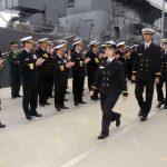 近海練習航海(練習艦隊)大湊基地寄港時の様子 平成29年・幹部候補生