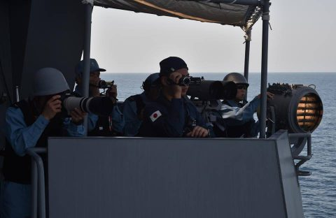 海上自衛隊27次派遣海賊対処行動水上部隊 護衛艦てるづきの様子4