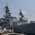 海上自衛隊 派遣海賊対処行動部隊の様子 きりさめ&てるづき5