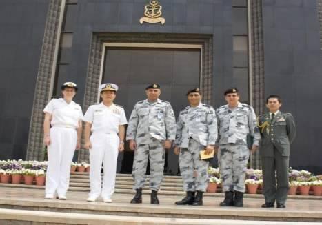 第151連合任務部隊司令官 福田達也 海将補 パキスタン訪問
