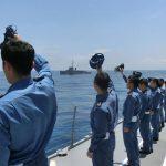 護衛艦いずも護衛艦さざなみの様子・最新 カナダ海軍艦艇など