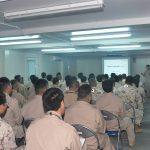 派遣海賊対処行動支援隊 警務隊による服務規律教育/衛生員の訓練