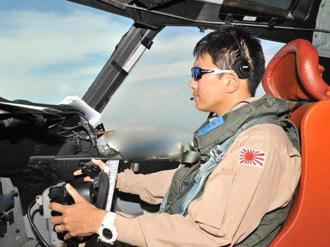 27次派遣海賊対処行動航空隊7次支援隊 警戒監視飛行 1800回飛行達成