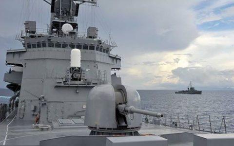 26次派遣海賊対処行動水上部隊 護衛艦きりさめ フィリピン海軍艦艇