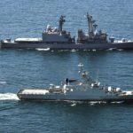 海自派遣海賊対処行動第29次水上部隊 オマーンのドゥクム港に寄港